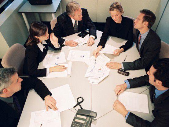 Wenn Geschäftszahlen nicht stimmen, kann es schnell Ärger geben.