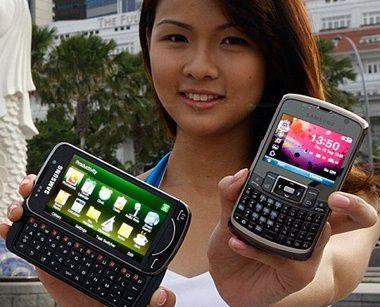 Die neuen Business-Smartphones von Samsung: Omnia Pro B7610 und B7320