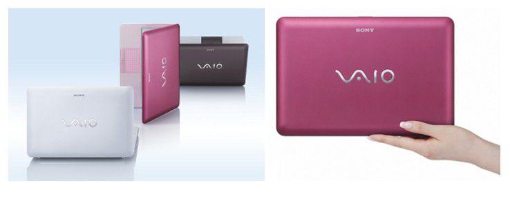Sony Vaio W - das erste echte Netbook der Japaner.