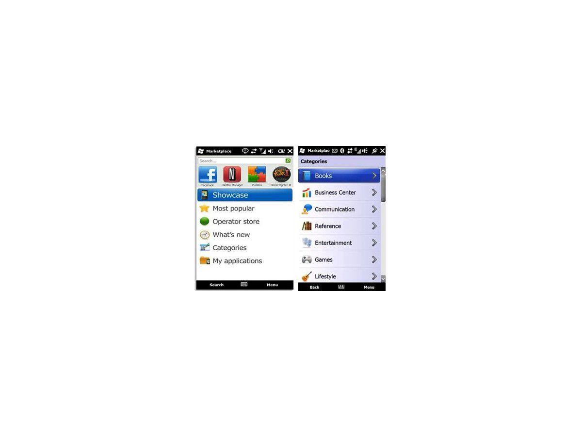 19a10279a6026d Windows Marketplace for Mobile  Online Shop öffnet Pforten für Windows  Mobile 6.0 und 6.1 - computerwoche.de