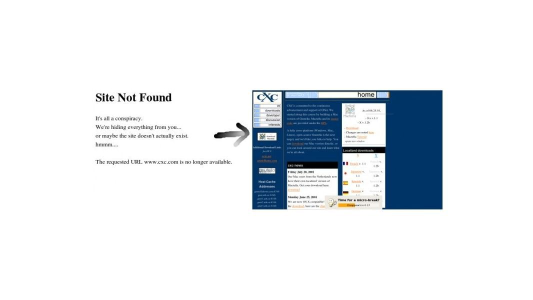 404 : Page is Not Found ? Now it will be!