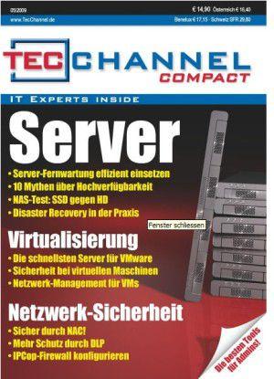 Wichtige Themen rund um Server und Data Center auf 164 Seiten - im TecChannel Compact!