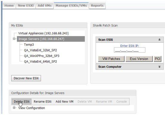 Mit Go erhält ESXi ein Browser-basierendes Verwaltungstool, das die wichtigsten Basisfunktionen beherrscht.