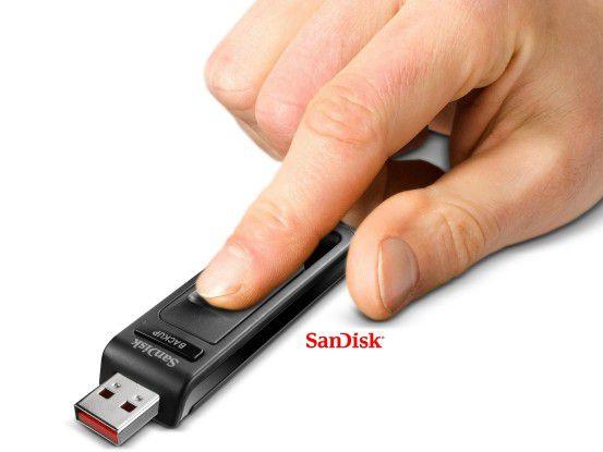 Klein und leistungsstark: Der SanDisk Ultra Backup.