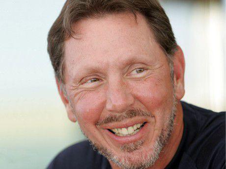 "Oracle-Chef Lawrence ""Larry"" Ellison kann gut mit Mark Hurd."