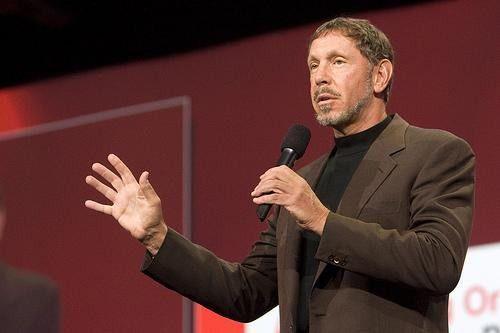 Verspricht eine effizientere und leistungsfähigere Server-Virtualisierung: Oracle-Boss Larry Ellison.