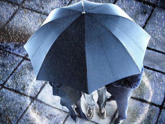Vom Regen verschont: IT-Profis verdienen trotz krise gut und sogar noch mehr als im Vorjahr.(Foto: Moodboard/Fotolia.com)
