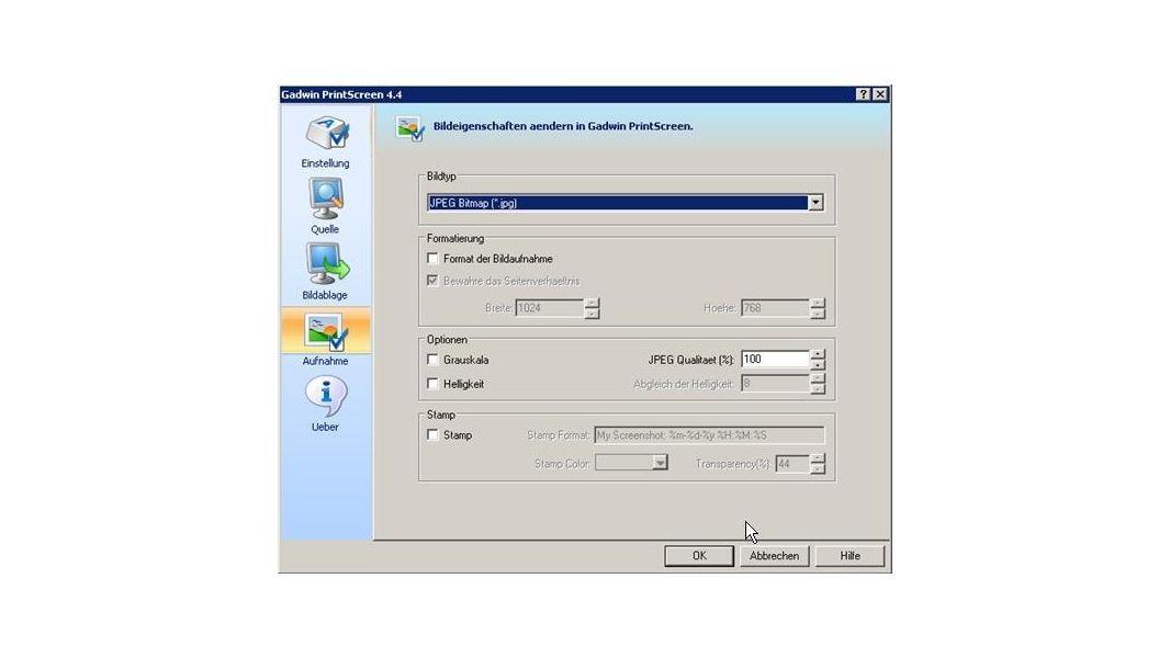 Produktivitäts-Tools: Mit Gadwin schnell zum Screenshot