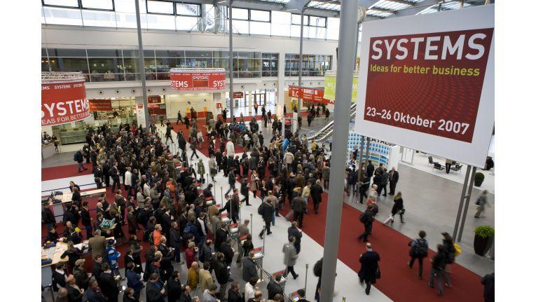 Zufriedene Aussteller trotz weniger Besucher: Die Messeleitung zieht eine positive Bilanz der Systems 2007.