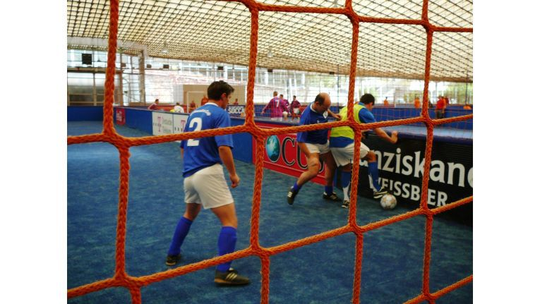 Action: Schnelles Spiel kennzeichnete das Turnier.