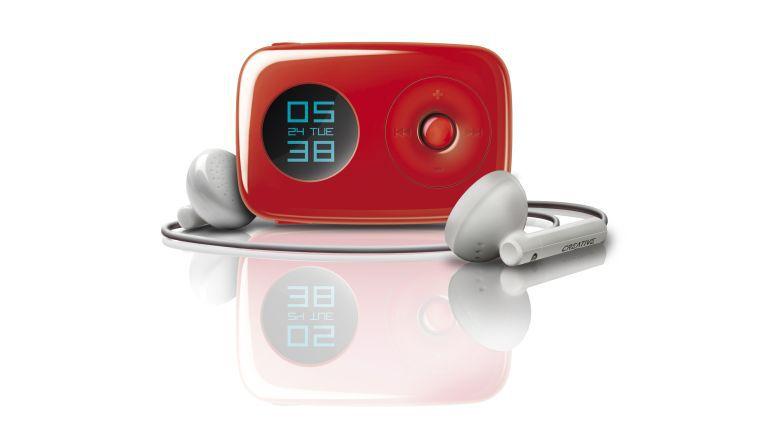 Die Alexander Süß Systemprogrammierung & Layoutservice GmbH in Spangenberg kann sich auf einen Zen Stone MP3-Player von Creative für ihre Kreativität freuen.
