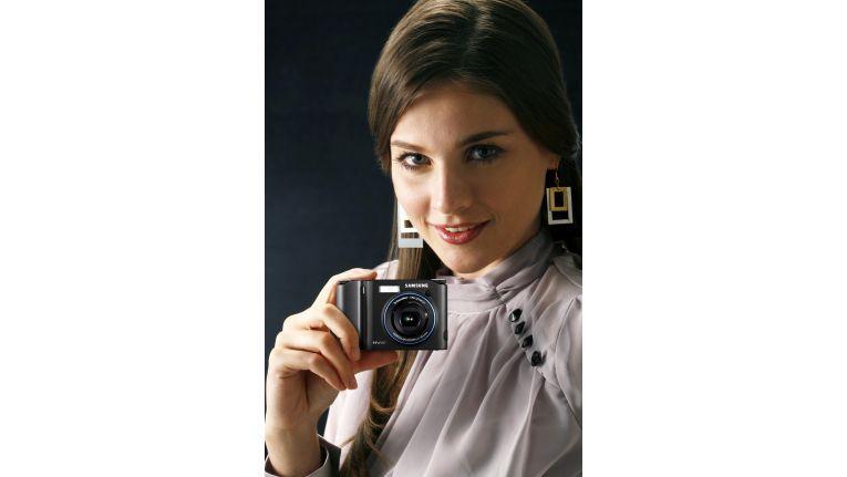 Mit Kameras wie der NV40 will Samsung auch anspruchsvolle Fotoamateure zufrieden stellen.