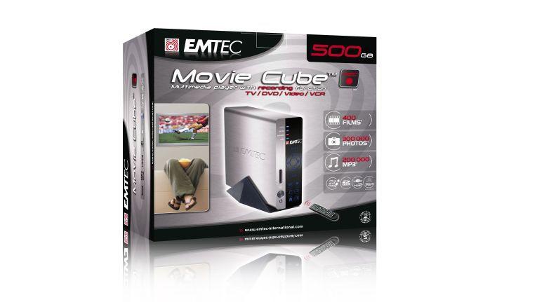 Auf den sechsten Platz wurde der Dekovorschlag von EP:Schell in Bonn gewählt. Als Preis dafür gibt es nun den Movie Cube von Emtec. Der Movie Cube ist eine Kombination aus externer USB-Festplatte und eigenständigem Abspielgerät für digitale Fotos, Videos und Musik.