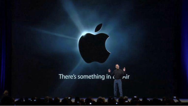 There´s something in the Air war das Motto der diesjährigen Macworld Expo.