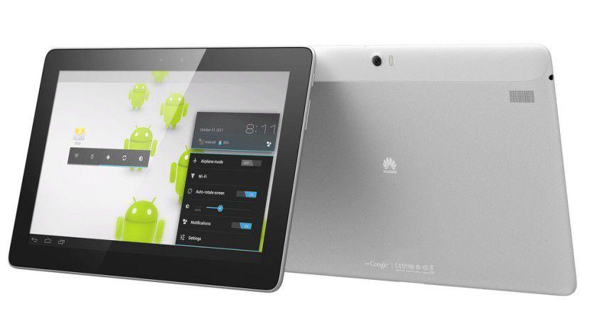 Huawei MediaPad 10 FHD: Das Android-4.0-Tablet nutzt als Prozessor den NVIDIA Tegra 3 mit Quad-Core-Technologie (plus Energiesparkern).