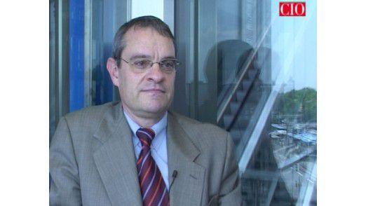 Michael Neff, CIO der Heidelberger Druckmaschinen AG.