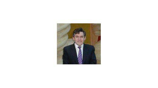 Bekommt ungefragt IT-Nachhilfe: Gordon Brown, britischer Premierminister. (Foto: Britische Botschaft)