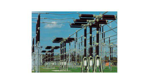 Aus dem Produktangebot: Eine Hochspannungsanlage von ABB Energietechnik.