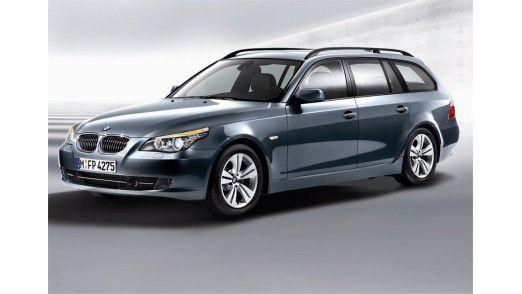 Am häufigsten fahren IT-Führungskräfte einen BMW als Dienstwagen.