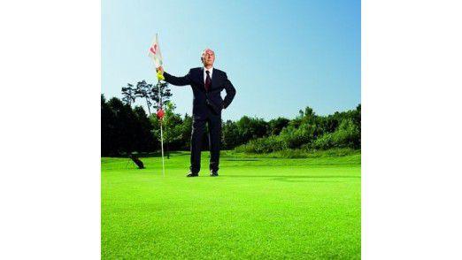 Golf macht Spaß. Aber Netzwerken geht mit Twitter & Co. genau so gut.
