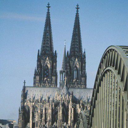 Köln ist als Messe- und Einkaufsmetropole besonders belastet durch Staus.