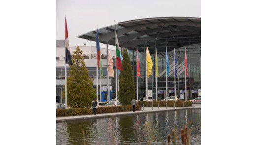 Die Systems 2008 im Münchener Stadtteil Riem.
