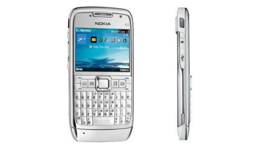 Die Zukunft der Nokia-Handys könnte anders aussehen als das E 71 - mit einem Akku, der sich durch Bewegung auflädt.