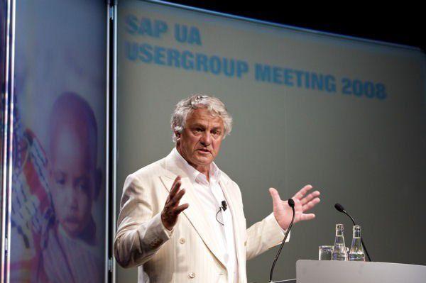 HPI-Gründer und Namensgeber Hasso Plattner.
