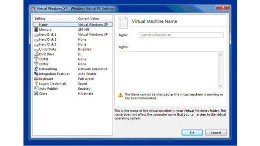 Der XP-Modus ist vollständig in Windows 7 integriert. Windows XP Service Pack 3 läuft dabei in einer virtuellen Maschine unter dem neuen Betriebs-System.