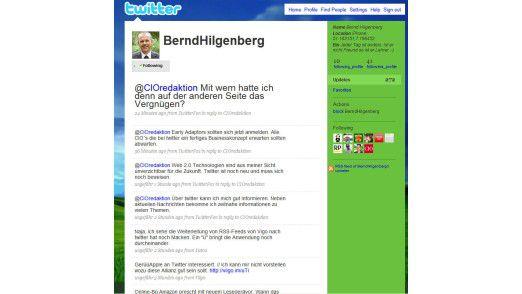 Bernd Hilgenberg bei Twitter.com