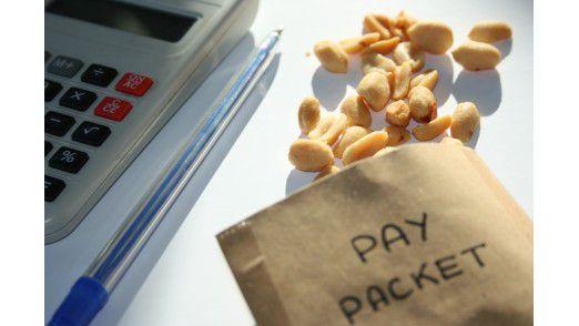 Trotz Einbußen bei Sonderzahlungen: Bei den Vergütungen für IT-Manager handelt es sich dennoch nicht um Peanuts.