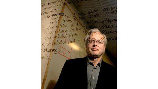 Das Gehirn: Ray Ozzie denkt vor, wie Microsoft die nahe Zukunft erobern will. Foto: Corbis