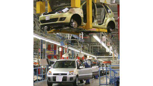 BI macht die Prozesse in den Autofabriken effizienter.
