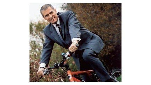 Wenn er Zeit hat, macht Heinz Kreuzer, CEO der TUI-Tochter Info Tec, gerne Mountainbike-Touren durch den Harz.