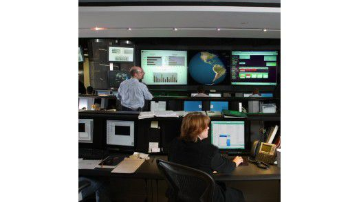 Das Symantec Security Operations Center.