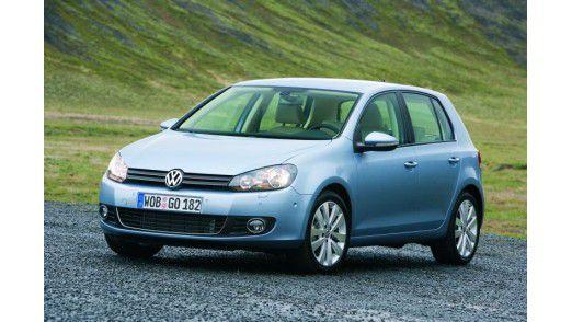 Der Golf von Volkswagen gehört zu den Einsteiger-Modellen unter den Dienstwagen.