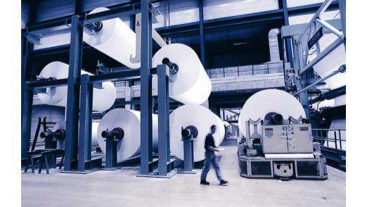 Die Papierherstellung bei Köhler.