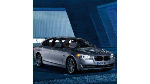 Der Beliebteste: Der 5er von BMW. Hier das neue Modell, das ab Januar zu haben ist.