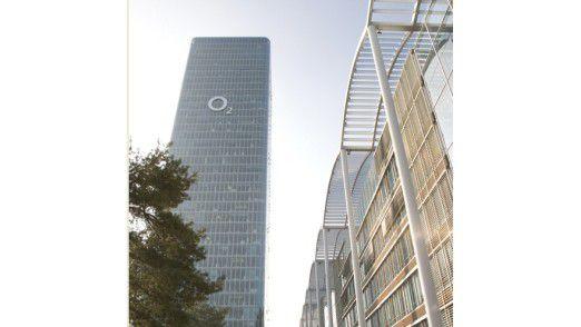 Firmensitz von Telefonica O2 in München. Das Unternehmen erreichte besonders hohe Werte in der Mitarbeiterzufriedenheit.