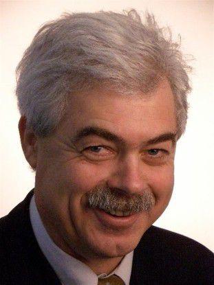 EPOS-Projektleiter Werner Landwehr vom Finanzministerium.