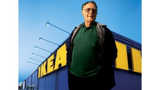 Ikea-Gründer Ingvar Kamprad ist im Alter von 91 Jahren gestorben.