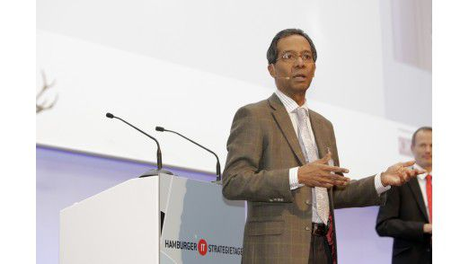 Chittur Ramakrishnan, CIO der RWE AG auf den Hamburger IT-Strategietagen.