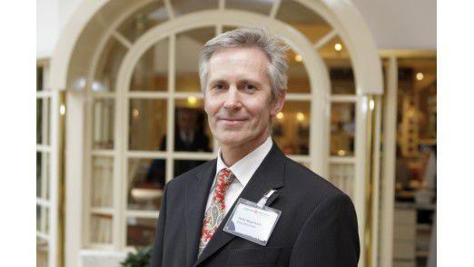 """Peter Meyerhans, Drees & Sommer, schaffte es im Wettbewerb """"CIO des Jahres 2010"""" in der Kategorie Mittelstand auf den dritten Platz."""