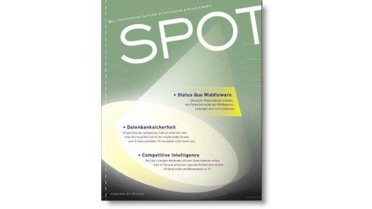 Das neue SPOT-Magazin.
