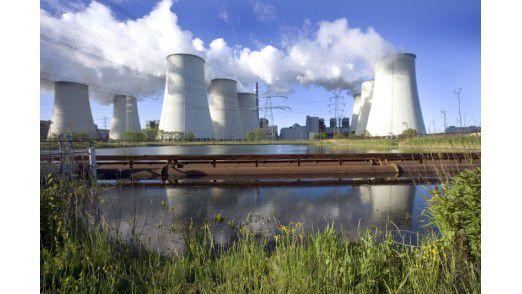 Kraftwerk von Vattenfall.