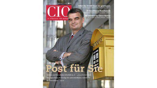 Die neue Juni-Ausgabe des CIO-Magazins.