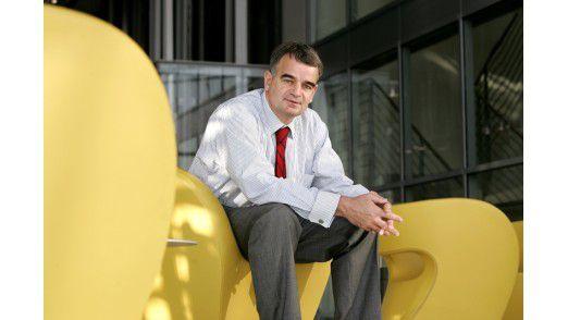 Johannes Helbig, CIO des Jahres 2010, trommelt für den E-Postbrief.