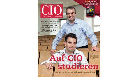 Die neue Juli/August-Ausgabe des CIO-Magazins.