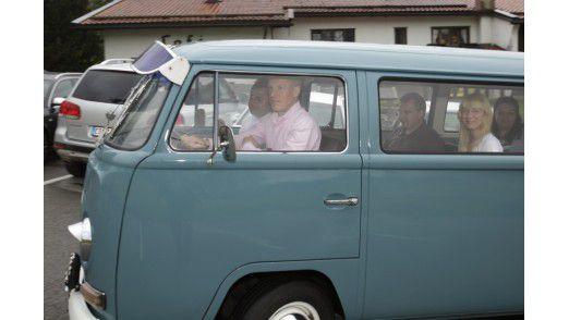 Heinz Kreuzer, CEO der TUI-Tochter Info Tec fährt am Wochenende selbst.