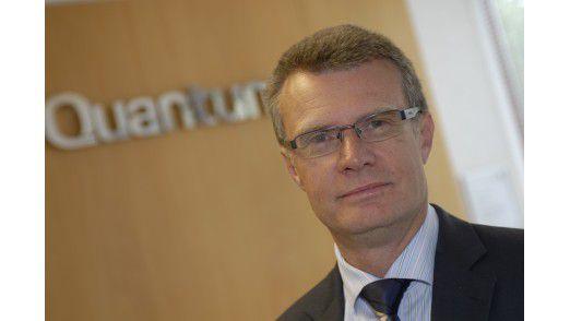 Steve Mackey von Quantum: Wer nicht weiter weiß, sollte ruhig beim Backup-Anbieter seines Vertrauens nachfragen.